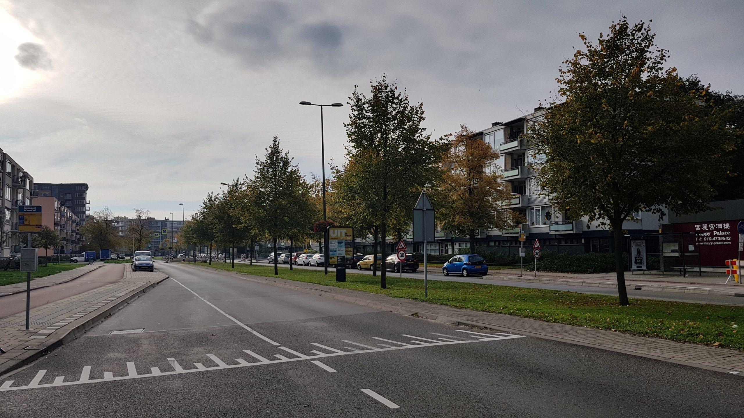 Ernstige verkeershinder Nieuwe Damlaan